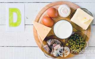 Витамин D — источник, недостаток, действие