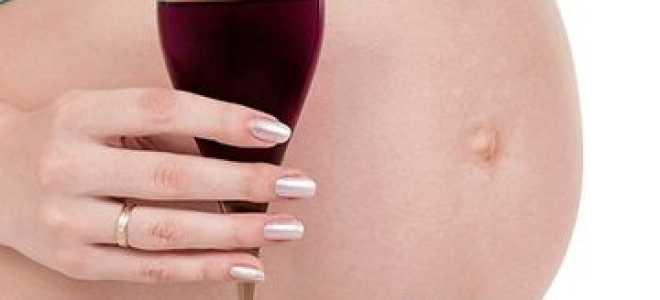 Влияние алкоголя на развитие зародыша