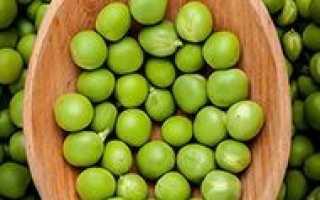 Калорийность гороха – свежего, консервированного и блюд из него