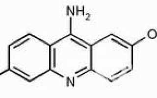Этакридин – инструкция по применению, показания, дозы