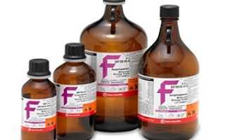 Хлороформ – инструкция по применению, свойства, действие