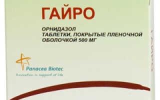 Гайро – инструкция по применению таблеток, отзывы, аналоги, цена