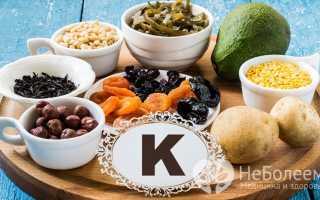 Витамин K — роль, недостаток, суточная потребность